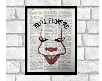Pennywise Art Etsy