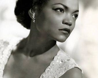 Studio photo of Eartha Kitt , 1950's