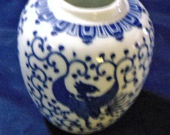 Rising Phoenix Vase