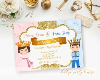 Royal invitation Etsy