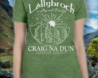 Lallybroch is calling choose tshirt color