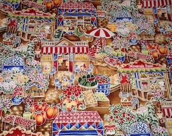 Robert Kauffmans Chefs Choice cotton fabric multi color