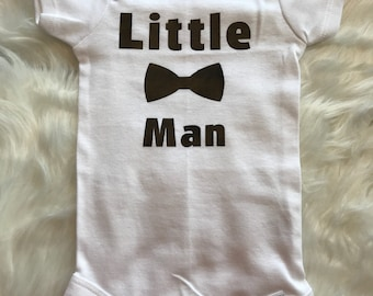 Little Man-Cute Baby Onesie,Baby Shower Gift, Funny
