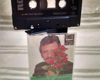 Cassette Tape Ringo Starr Stop and Smell the Roses