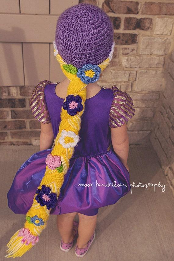 Rapunzel Hut häkeln Rapunzel Mütze Rapunzel Geflecht