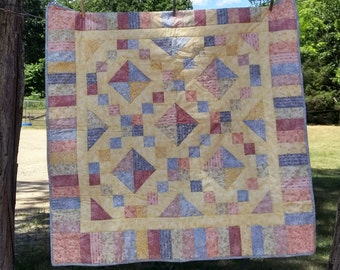 Gem-toned Baby Sized Quilt