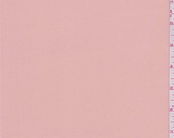 Peach Blush Polyester Chiffon, Fabric By The Yard