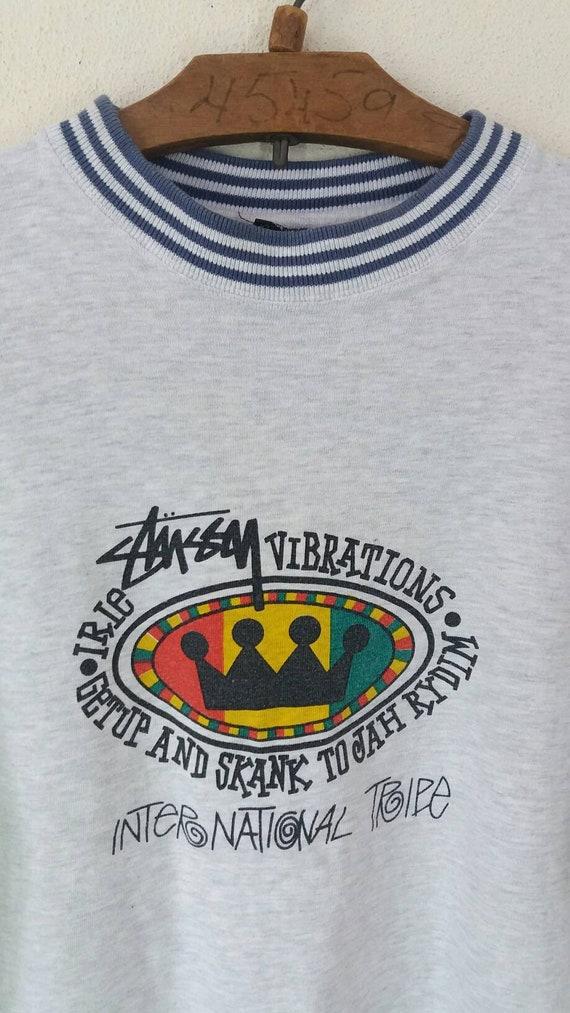 Usa Large Rasta Reggea Stussy Rare Hiphop Vintage 90s wIHxqZn7A6