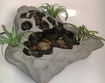 Unique indoor tabletop fountain water fountain garden