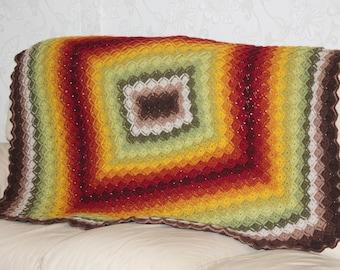 Bavarian crochet throw/blanket