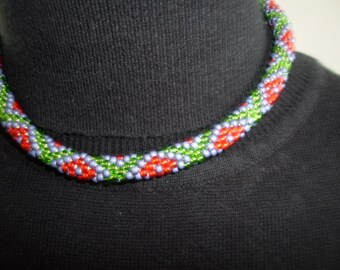 Elegant Handmade TOHO Beads Necklace