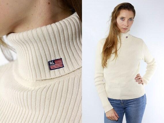 Turtleneck Jumper / Turtleneck Sweater / Ralph Lauren Jumper / Ralph Lauren Sweater / Ralph Lauren / Vintage Sweater / Vintage Jumper