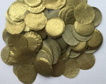 Gold Biodegradable Confetti for Wedding, Party, Baby Shower, Gender reveal