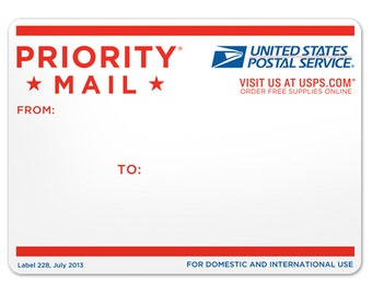 USPS Priority Mail 2-3 Day Shipping