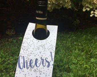 cheers wine tags