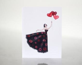 Sending Love Note Card