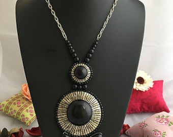 Long Necklace, Beaded Necklace, Seed Bead Necklace, Pendant Sale, Acrylic Necklace, Necklace for women, Seed beads necklace