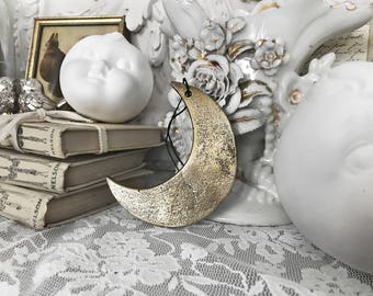 Vintage Moon Pendant