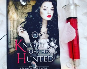 Autographed Knight of the Hunted book