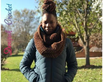 Thick and Cozy Knitted Scarf