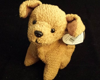 TY Beanie Baby - Brown Terrior Pup, Tuffy - October 12, 1996