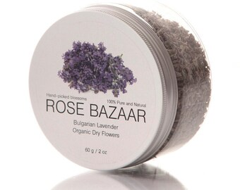 Dried Lavender Flowers - Organic 2 oz/ 60 g