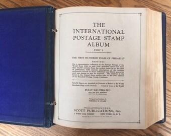 International Postage Stamp Album Part 1