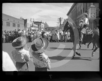 "1950s Parade - Boulder Colorado Photograph - 12""x18"" with Boulder Pearl Street"