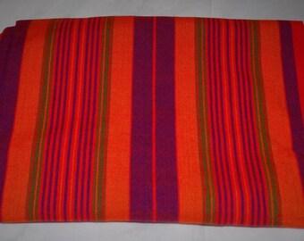 African Masai - Maasai Shuka Blanket - Multi-Colored Striped Masai Shuka