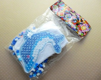 Kit beads iron Blue Dolphin