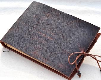 Leather Journal or Sketchbook