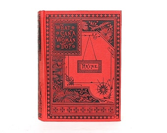 Women's History - Women's Rights - Women in Business - Careers for Women - Graduation Gift for Her - Antique Book