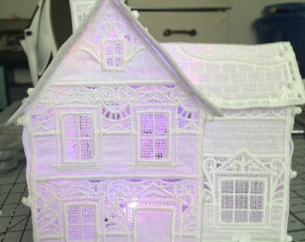 Freestanding Lace Victorian House