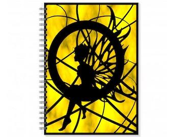 A5 Magical Journal - A5 Magical Notebook - A5 Fantasy Notebook - Notebook For Her - A5 Blank Book - Teen Friend Gift  - Notebook Paper Art
