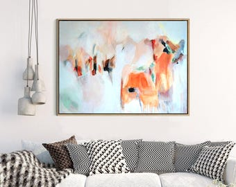 Abstract Art, Large Abstract Print , Giclee Print , Canvas print,  Modern Art , Fine Art Print , Abstract Expressionism