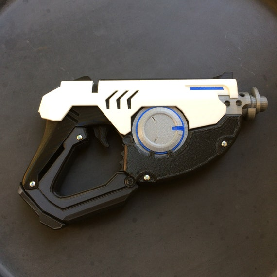 3d Gun Image 3d Home Architect: Tracer Guns Pulse Pistols From Overwatch 3D Printed