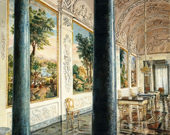 "Italian palazzo (palace) or villa, titled ""Room With A View"""