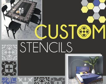 Custom Made Stencils