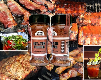 1st & TEN Pepper – Premium Sports Blend – Tailgate Master Spices