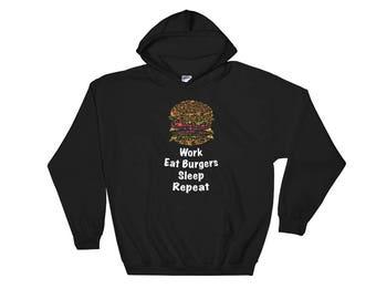 Burger Lover Hooded Sweatshirt