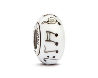 """Sweet Melody"""" Hand Decorated Glass Bead"""