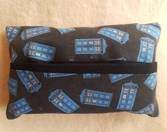 Doctor Who inspired travel tissue holder