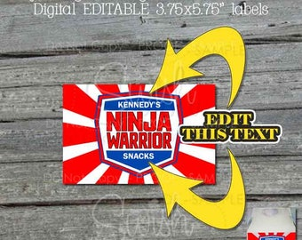 """Ninja Gable Box Labels 
