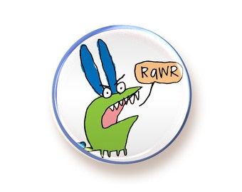 RAWR - round magnet