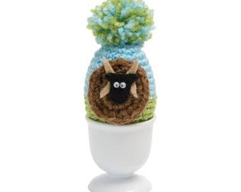 Manx Loaghtan Sheep Egg Cosy