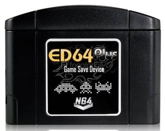Nintendo N64 ED64plus Game Save Device - N64 Everdrive - With Games