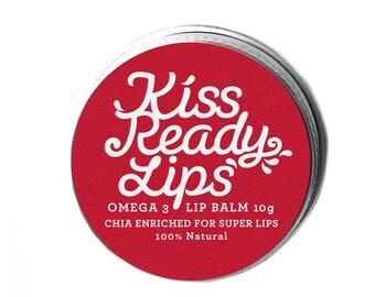 Kiss Ready Lips Natural Chia Lip Balm