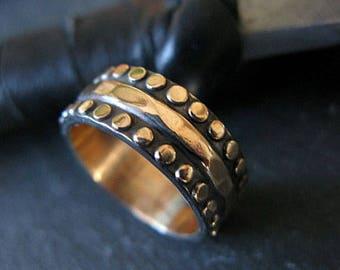 Mens Wedding Band Size 5 1/2 Mens Wedding Ring Viking Wedding Ring Unique Mens Wedding Band Black Ring Boyfriend Gift Wedding Band Men Weddi