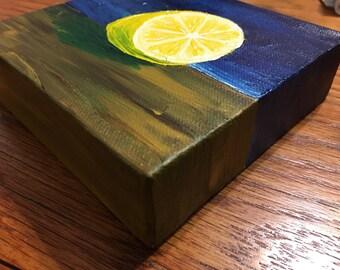 Lemon- acrylic on canvas