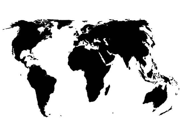 World map vector digital download file dxf dwg svg suitable this is a digital file gumiabroncs Images